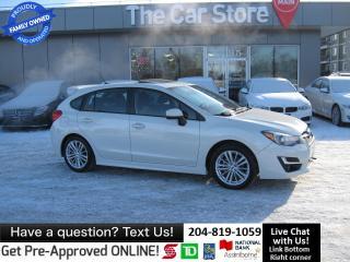 Used 2015 Subaru Impreza 2.0i Sport PKG sunroof HTD SEAT backcam for sale in Winnipeg, MB