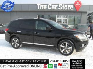 Used 2014 Nissan Pathfinder Platinum DVD 3 ROWS! leather NAVI cool/htd seat for sale in Winnipeg, MB