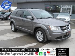 Used 2012 Dodge Journey SE Plus LOCAL WPG no accidents! REMOTE STARTER for sale in Winnipeg, MB