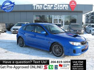 Used 2014 Subaru WRX 1OWNER clean title HTD SEAT BLUETOOTH for sale in Winnipeg, MB