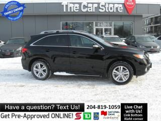 Used 2015 Acura RDX HTD LEATHER seat SUNROOF BACK CAM for sale in Winnipeg, MB