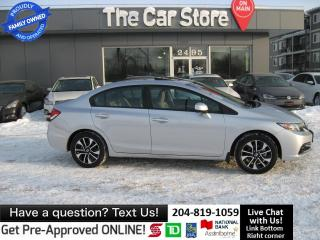 Used 2013 Honda Civic EX sunroof BACK CAM htd seat BLUETOOTH for sale in Winnipeg, MB