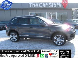 Used 2011 Volkswagen Touareg EXECLINE!  NO ACCIDENTS, 7700 LBS TOWING for sale in Winnipeg, MB
