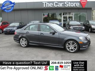 Used 2013 Mercedes-Benz C-Class C350 4MATIC NAVI, LEATHER FULL TECH PKG for sale in Winnipeg, MB