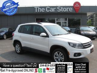Used 2014 Volkswagen Tiguan Trendline 1OWNER HTD BLUETOOTH AWD htd seats! for sale in Winnipeg, MB