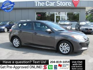 Used 2013 Mazda MAZDA3 GS-SKY heated seat BLUETOOTH 1owner for sale in Winnipeg, MB