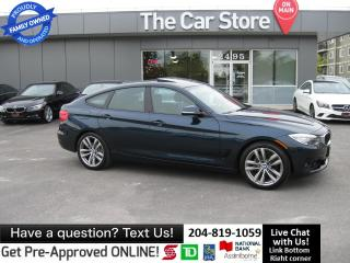 Used 2014 BMW 328i xDrive GT NAVI htd leather BACKCAM hatch for sale in Winnipeg, MB