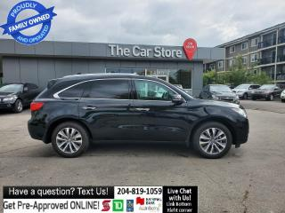 Used 2014 Acura MDX TECH 3ROW - BLOW OUT PRICE! NAVIGATION LEATHER for sale in Winnipeg, MB