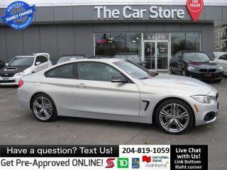 Used 2014 BMW 428i xDrive SPORT navigation HTD LEATHER park sensor for sale in Winnipeg, MB