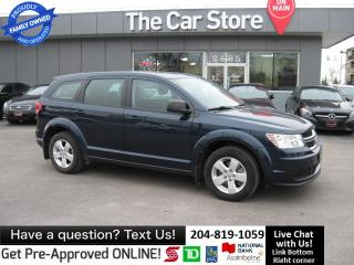 Used 2015 Dodge Journey SE Plus local trade BLUETOOTH push start for sale in Winnipeg, MB