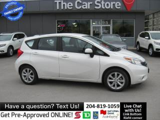 Used 2014 Nissan Versa Note 1.6 SV HTD SEAT backcam bluetooth LOCAL WPG CAR for sale in Winnipeg, MB