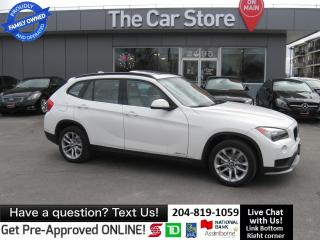 Used 2015 BMW X1 xDrive28i - SUNROOF leather htd BLUETOOTH 1owner for sale in Winnipeg, MB