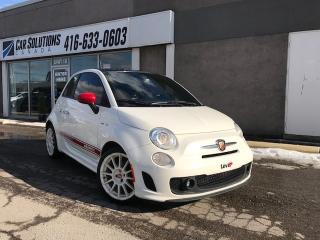 Used 2013 Fiat 500 Abarth-LEATHR-SN ROOF for sale in Toronto, ON