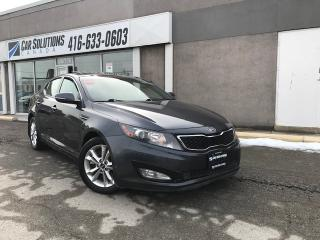 Used 2012 Kia Optima EX-LEATHER-PANORAMIC-CAMERA for sale in Toronto, ON