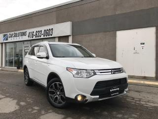Used 2015 Mitsubishi Outlander GT-7 PASS-SUN RF-LEATHER for sale in Toronto, ON