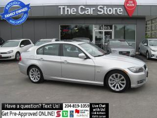 Used 2010 BMW 335i xDrive HTD SEAT/WHEEL leather NO ACCIDENTS! for sale in Winnipeg, MB