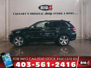 Used 2014 Jeep Grand Cherokee Overland | EcoDiesel | Tech Grp for sale in Calgary, AB