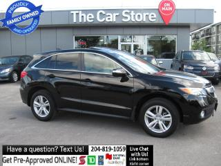 Used 2015 Acura RDX HTD LEATHER sunroof BACKCAM PUSHSTRT for sale in Winnipeg, MB