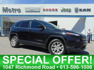 Used 2015 Jeep Cherokee North Heated Seats & Bluetooth for sale in Ottawa, ON