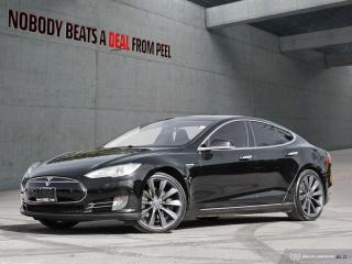 Used 2013 Tesla Model S P85+ Plus,Smrt Susp,21Whls,NEW Tires,Roof,Fast EV for sale in Mississauga, ON