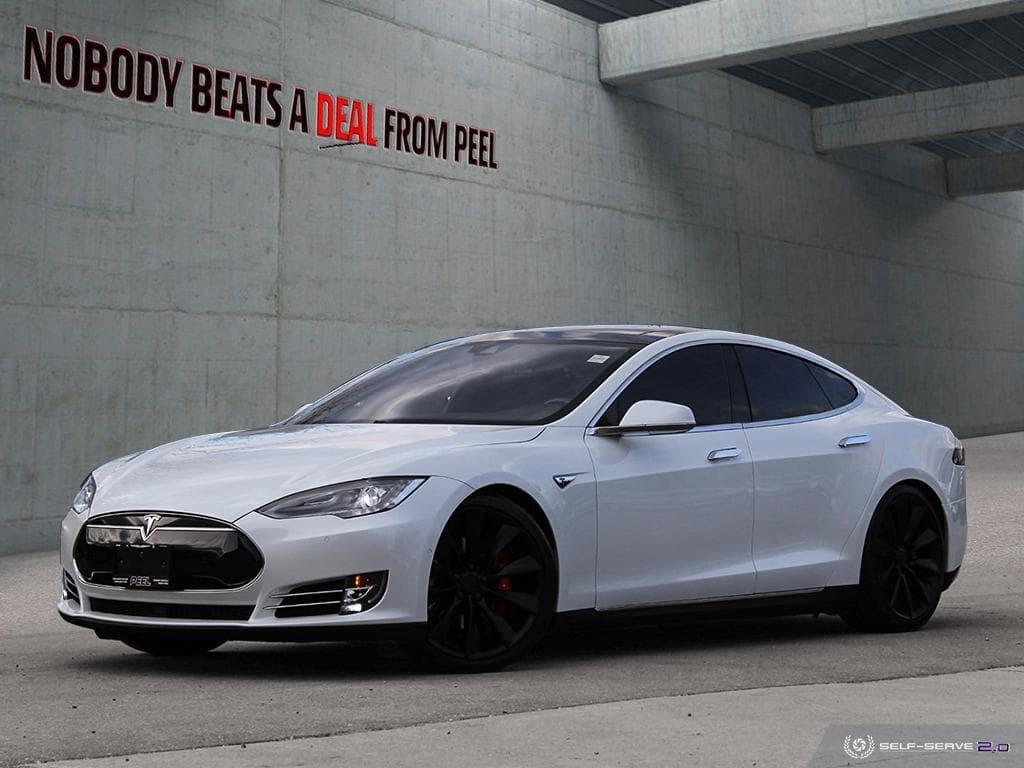 Used 2015 Tesla Model S P90D Ludicrous, Autopilot, 21Whls, Roof, EV