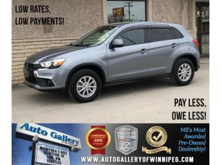 Used 2016 Mitsubishi RVR SE *AWD/Bluetooth/Htd Seats/Backup Cam for sale in Winnipeg, MB