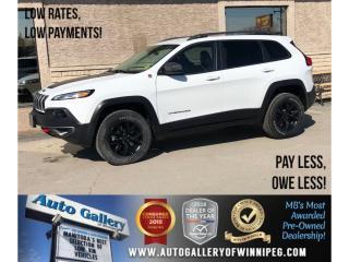 Used 2016 Jeep Cherokee Trailhawk *4X4/Htd Lthr/Bluetooth for sale in Winnipeg, MB