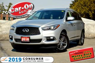 Used 2018 Infiniti QX60 AWD 7 SEAT LEATHER NAV SUNROOF REAR CAM LOADED for sale in Ottawa, ON