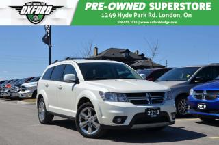 Used 2014 Dodge Journey SXT - 7 Passenger, FWD, Roof Rack for sale in London, ON