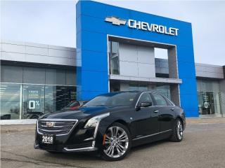 Used 2018 Cadillac CT6 Platinum AWD for sale in Barrie, ON