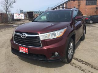 Used 2014 Toyota Highlander AWD 4DR XLE for sale in Brampton, ON