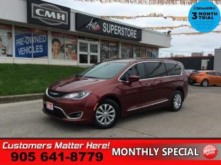 Used 2017 Chrysler Pacifica Touring-L  LEATH CAM PWR-SLIDERS/GATE REAR AC for sale in St. Catharines, ON