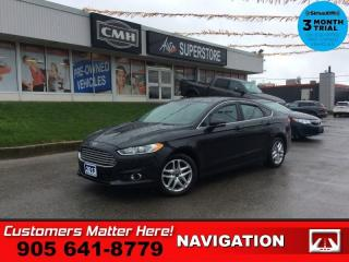 Used 2013 Ford Fusion SE  LEATHER ROOF NAVIGATION HTD-SEATS for sale in St. Catharines, ON