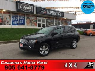 Used 2017 Jeep Compass Sport  4X4 LEATH ROOF HS BT 17