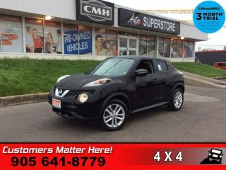 Used 2016 Nissan Juke SV  AUTO CAM BLUETOOTH HTD-SEATS for sale in St. Catharines, ON