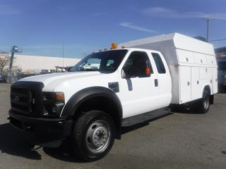 Used 2008 Ford F-550 SuperCab 2WD Dually Service Truck for sale in Burnaby, BC
