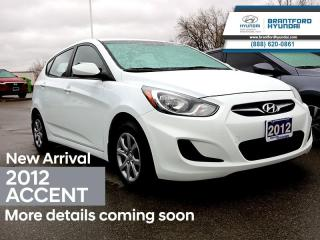 Used 2012 Hyundai Accent - $91.47 B/W for sale in Brantford, ON
