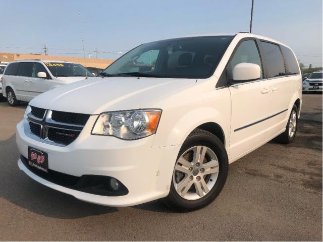 2016 Dodge Grand Caravan Crew| Dual DVD| Leather| UConnect | Loaded!