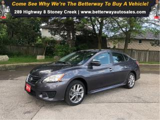 Used 2014 Nissan Sentra S| Navi| Backup Cam| Heat Seat| Sunroof for sale in Stoney Creek, ON