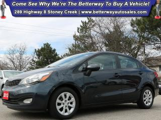 Used 2013 Kia Rio LX| Heat Seat| B-Tooth| Gas Saver! for sale in Stoney Creek, ON