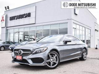 Used 2017 Mercedes-Benz C 300 AMG COUPE | DRIVER ASST | LANE KEEP | 360 CAM for sale in Mississauga, ON