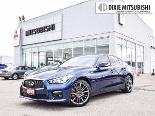 Used 2017 Infiniti Q50 RED SPORT 400 TECH | LANE DEP | 360CAM | BLINDSPOT for sale in Mississauga, ON