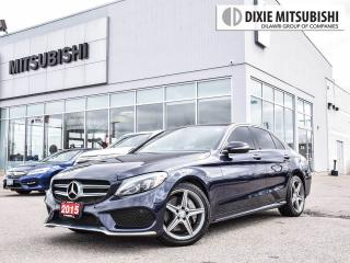 Used 2015 Mercedes-Benz C 300 AMG | BLUE ON BEIGE | PREMIUM | PANO ROOF | NAVI for sale in Mississauga, ON