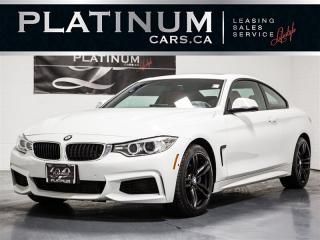 Used 2017 BMW 4 Series 440i xDrive M-SPORT, NAVI, CAM, RED LTHR, PREM for sale in Toronto, ON