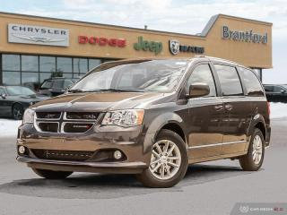 New 2019 Dodge Grand Caravan SXT Premium Plus  -  Uconnect - $230.97 B/W for sale in Brantford, ON