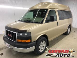 Used 2010 GMC Savana Passenger SLE Adapté pour le Conducteur for sale in Shawinigan, QC