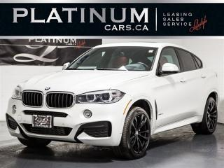 Used 2017 BMW X6 xDrive35i M-SPORT, EXEC, Heads UP DISP, RED Lthr for sale in Toronto, ON