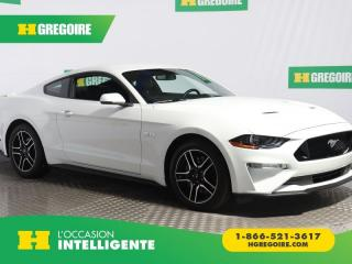 Used 2018 Ford Mustang GT PREMIUM V8 CUIR for sale in St-Léonard, QC