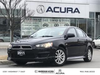 Used 2011 Mitsubishi Lancer SE CVT Heated Seats, Bluetooth for sale in Markham, ON