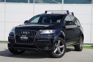 Used 2015 Audi Q7 3.0T Vorsprung Ed. quattro 8sp Tiptronic 7 Pass* Towing Pkg for sale in Vancouver, BC